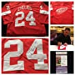 Chris Chelios Detroit Red Wings Signed Autograph Red Jersey. JSA COA