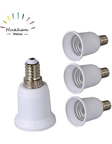 4 UNIDS de Alta calidad E14 a E27 Edison Tornillo LED Base de la Bombilla Convertidor