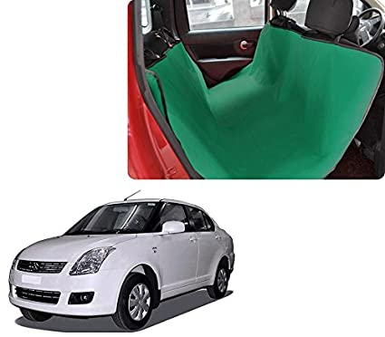 Black Water Resistant Rear Car Seat Dog Pet Cover for Suzuki Swift All Models