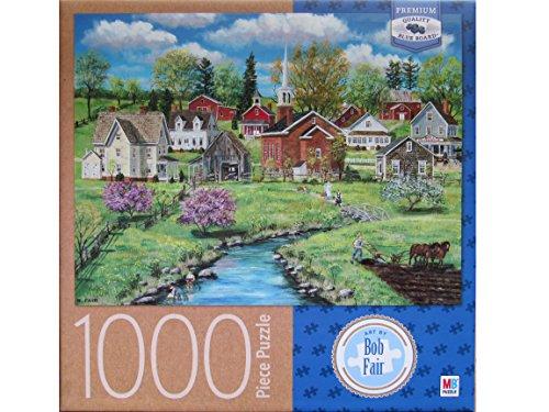 - Bob Fair's Crab Apple Creek ~ 1000 Piece Puzzle