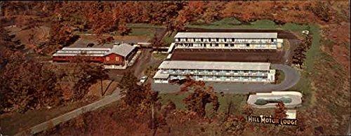 Hill Motor Lodge and Train Coach Restaurant Tannersville, Pennsylvania Original Vintage - Tannersville Pennsylvania