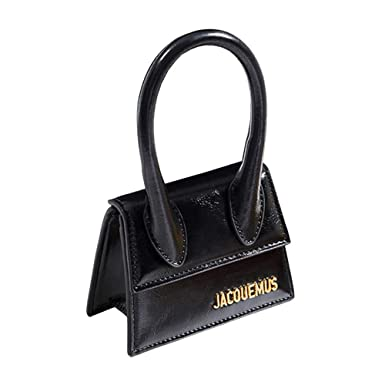 9e8358b6f0bf Amazon.com: Leather Mini Tote Bag Top Handle small Crossbody ...