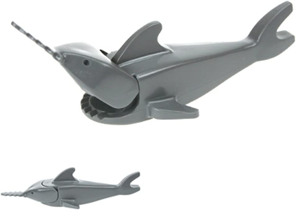 LEGO Swordfish Shark Figure Classic Light Gray