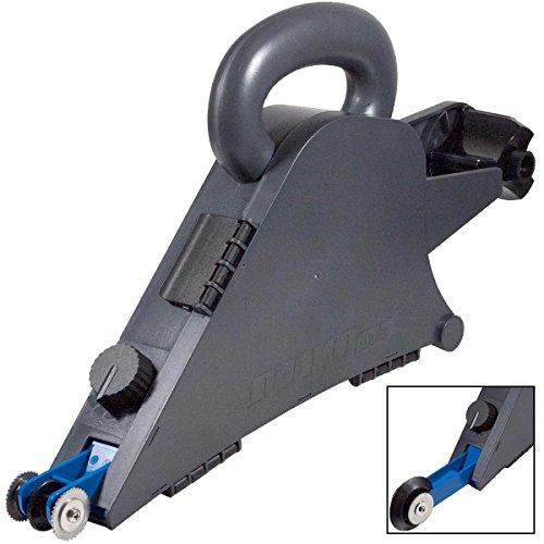 Delko Plastic Drywall Banjo Taper - Handheld Remodeler's Taping Tool with Internal Corner Applicator Creaser ()