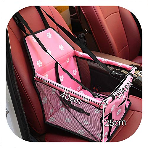 Better With You Pet Dog Carrier Pad Waterproof Dog Seat Bag Basket Pet Products Safe Carry House Cat Puppy Bag Dog Car Seat,4,M