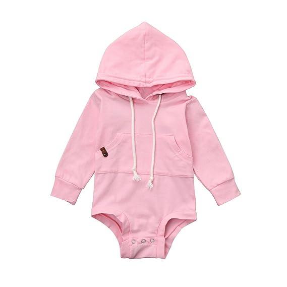 ropa de bebé bebé recién nacido otoño AIMEE7 blusas con capucha bebé niña manga larga camisetas