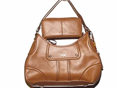 Image Unavailable. Image not available for. Color  Etienne Aigner Leather  Hobo Bag with Wallet ... 803e9fe262233