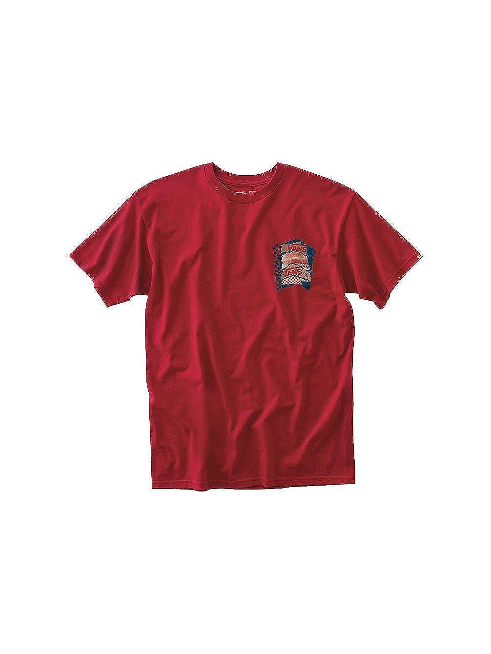 c36c9da62 Top4: Vans Men's Av Checkerpast Graphic T-Shirt