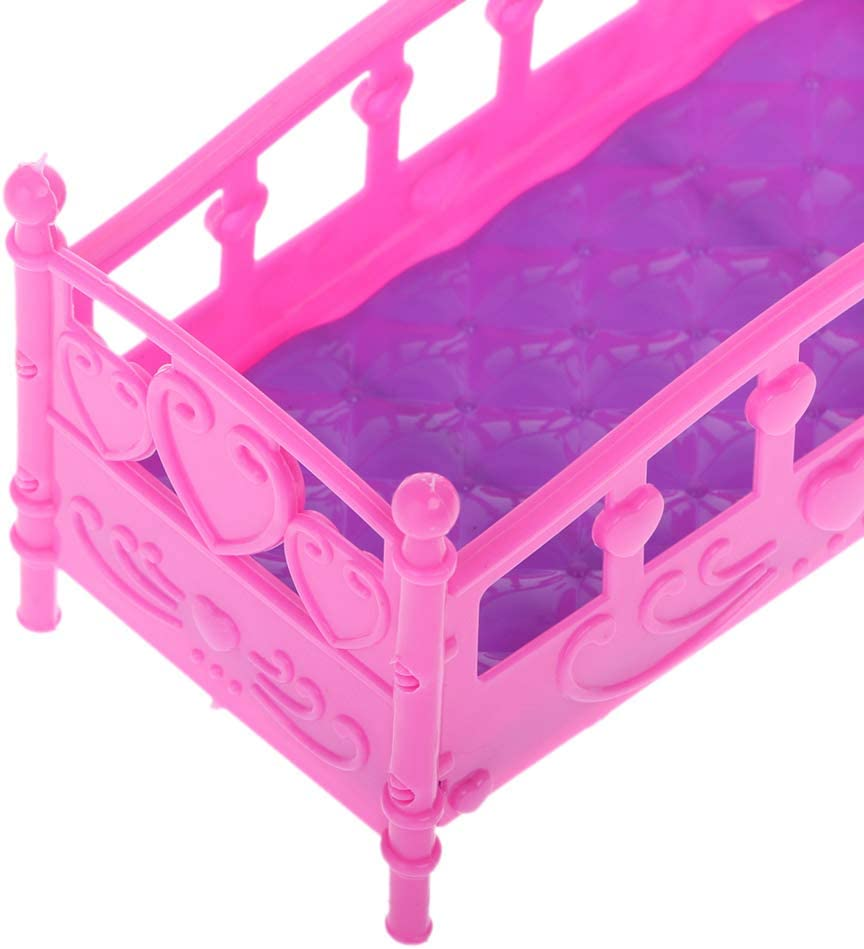 Doll Furniture Bed for  Kelly Doll Accessories Mini Dolls House Toy /_hcJKUK
