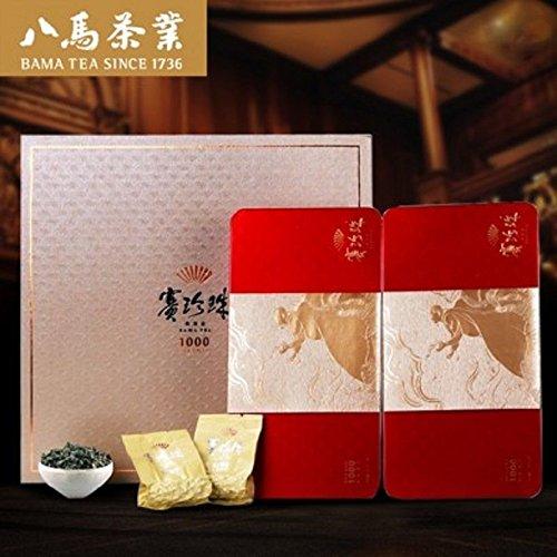 Bama tea 1000 Pearl Buck NongXiang Tieguanyin tea 250g八马茶业 铁观音茶叶 浓香型赛珍珠1000礼盒 by Yichang Yaxian Food LTD.