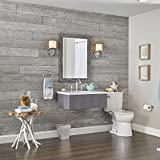 interior wood paneling Rustic Wall Planks by DPI, Pewter Grey (light)