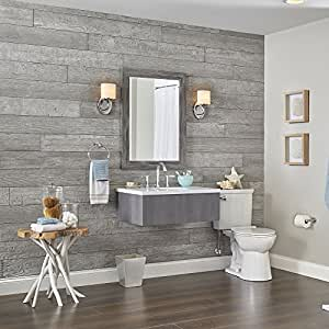 Rustic Wall Planks By Dpi Pewter Grey Light Amazon Com