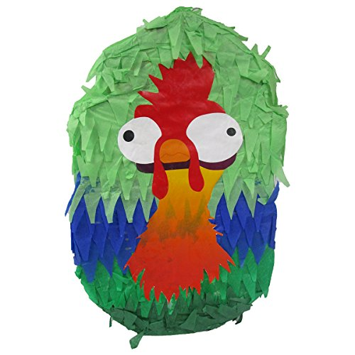 Pinatas Funny Rooster, Party Game and Centerpiece Decoration (Rooster Party Decorations)