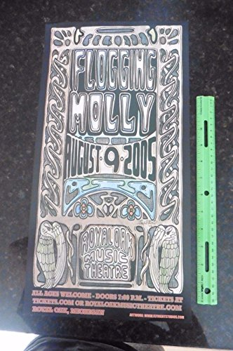 Flogging Molly Poster Royal Oak Theatre Jay Michael 11