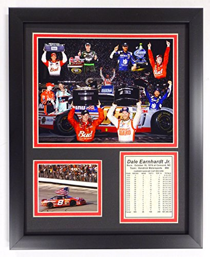 (Dale Earnhardt Jr. - Victory Lane - Framed 12