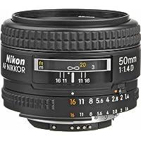 Nikon AF FX NIKKOR 50mm f/1.4D Fixed Zoom Lens with Auto Focus for Nikon DSLR Cameras International Version (No warranty)