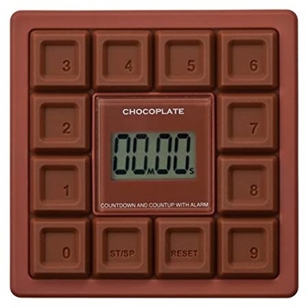 reina chocolate plate timer [10] key timer bitter chocolate
