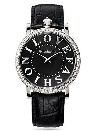 Reloj de la marca de relojes para mujer Fashion TV Paris con I Love Fashion cuarzo