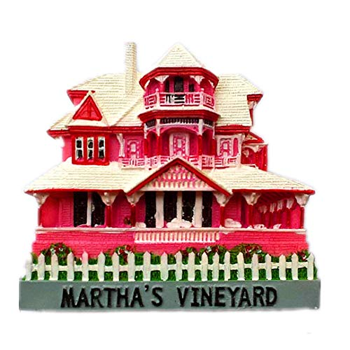 Martha's Vineyard USA America 3D Refrigerator Fridge Magnet Travel City Souvenir Collection Decoration White Board Sticker Resin]()