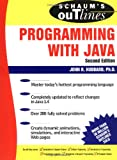 Schaum's Outline of Programming with Java, John Hubbard, 0071420401