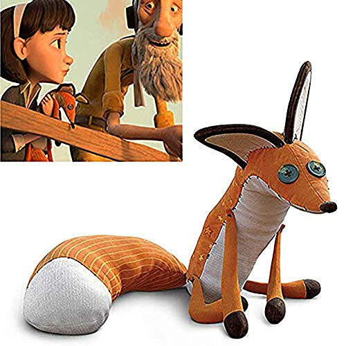 - The Little Prince Fox Plush Dolls 45cm le Petit Prince Stuffed Animal Plush Education Toys for Baby Kids Birthday/Xmas Gift Orange