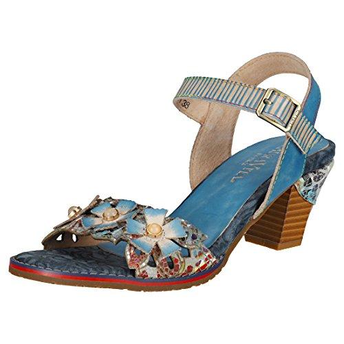 Vita Sandales 1 Mode Blau Laura SL16037 01 Vesica Dream Femme Fn164wqO