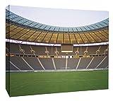 JP London MCNV2211 Goal Soccer Stadium World Cup Penalty Kick 2'' Thick Heavyweight Gallery Wrap Canvas, 3' x 2'