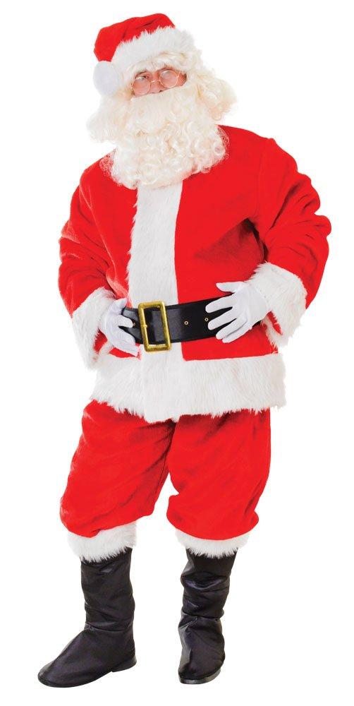 Bristol Novelty AC457 Weihnachtsmann Kostüm, Rot, weiß, 44-Inch
