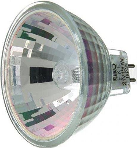 Eiko Eke Halogen Dichroic Reflector Bulb  21V 150W Mr16 Gx5 3 Base