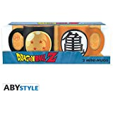 ABYstyle abymug266Dragon Ball 2Mini tazas con caja de bola de cristal y Kame