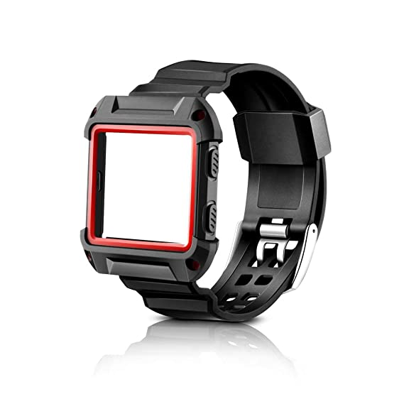 Amazon.com: Usmascot Compatible for Fitbit Blaze One-Piece ...