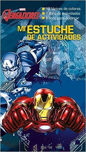 Los Vengadores. Mi estuche de actividades Marvel. Los Vengadores: Amazon.es: Marvel, Editorial Planeta S. A.: Libros