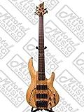 ESP LTD B-204SM NS Spalted Maple Bass Guitar, Natural Satin