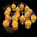 Halloween Pumpkin Lights String LED, Businda solar lights festive fairy decoration lights for Home Party Decoration