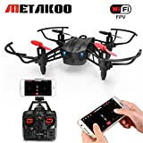 METAKOO M5 RC Drone with FPV WIFi Camera and 2 Batteries, High Speed RTF Racing Drone, Portable Helicopter, Quadcopter with Altitude Hold, 3D Flips, Headless Mode and One-key Landing/Taking off Review