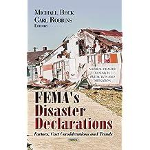 Fema's Disaster Declarations