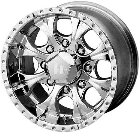 Helo Maxx Wheel with Gloss Black Machined 15x8//5x5