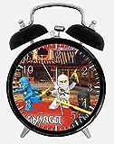 Lego Ninja Ninjago Alarm Desk Clock 3.75'' Home Office Decor W395 Nice For Gifts