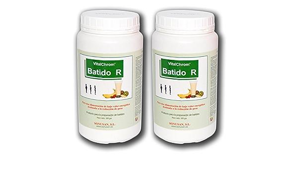 SONUSAN – VitalChrom Pack de 2 batidos con proteínas para ...