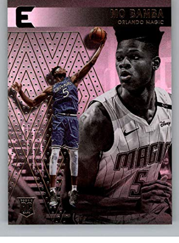 2018-19 Chronicles Essentials Basketball #210 Mo Bamba Orlando Magic Official NBA Trading Card From Panini America Rookie Card RC