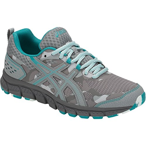 4 Asics Us scram Gel 5 Grey Mid Shoe B 1012a039 Running Women's 5 lagoon m r6R6Cx