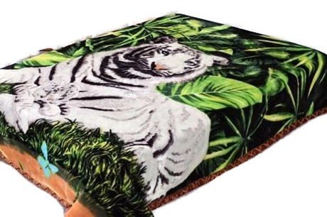 7LBS heavyweight Tiger Blanket, Super Warm , Supersoft Sa...