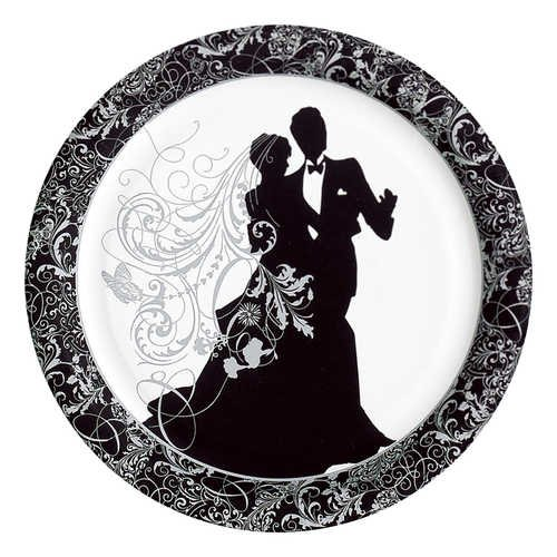 Silhouette Plate (Silhouette Banquet Plates)