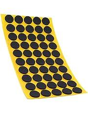 50 x antislippads van EPDM/celrubber, rond, Ø 16 mm, zwart, zelfklevend, antislip pads, intopkwaliteit (2,5 mm)