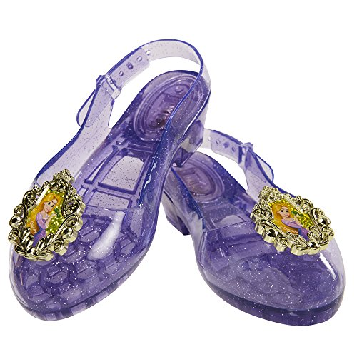 Disney Princess Rapunzel Light-Up Shoes, Size: 9-11, [Amazon Exclusive]