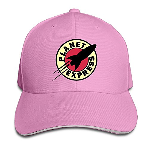 sunny-fish6hh-unisex-adjustable-planet-express-baseball-caps-hat-one-size-pink
