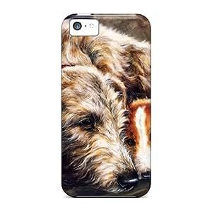 Unique Design Iphone 5c Durable Tpu Case Cover Best Of Friends