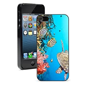For Apple iPhone 4 4S Hard Case Cover Sea Turle Swimming Ocean