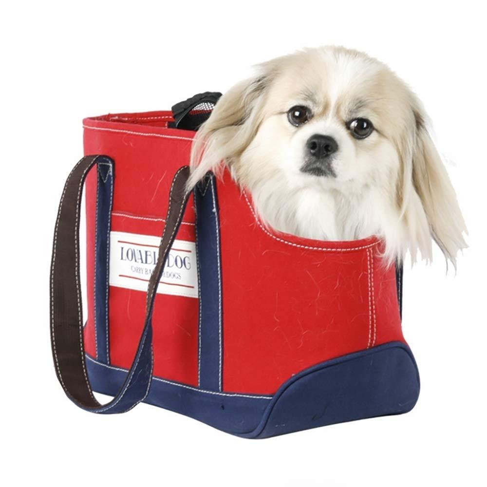 Pets Travel Shoulder Bags Pet Sling Carrier for Small Dog and Cat, Up to 11lb/5kg, Shoulder Carry Bag Pet Travel Carrier, Safe and Machine Washable,Blue