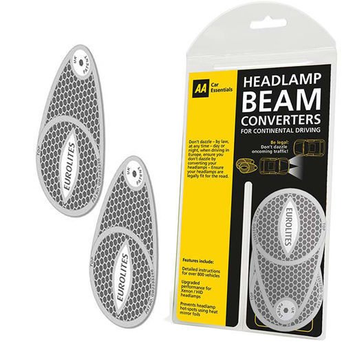 Genuine Aa Car Headlamp Beam Converters Required If Driving Abroad